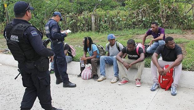 Al menos 620 migrantes han sido asegurados en Veracruz este año