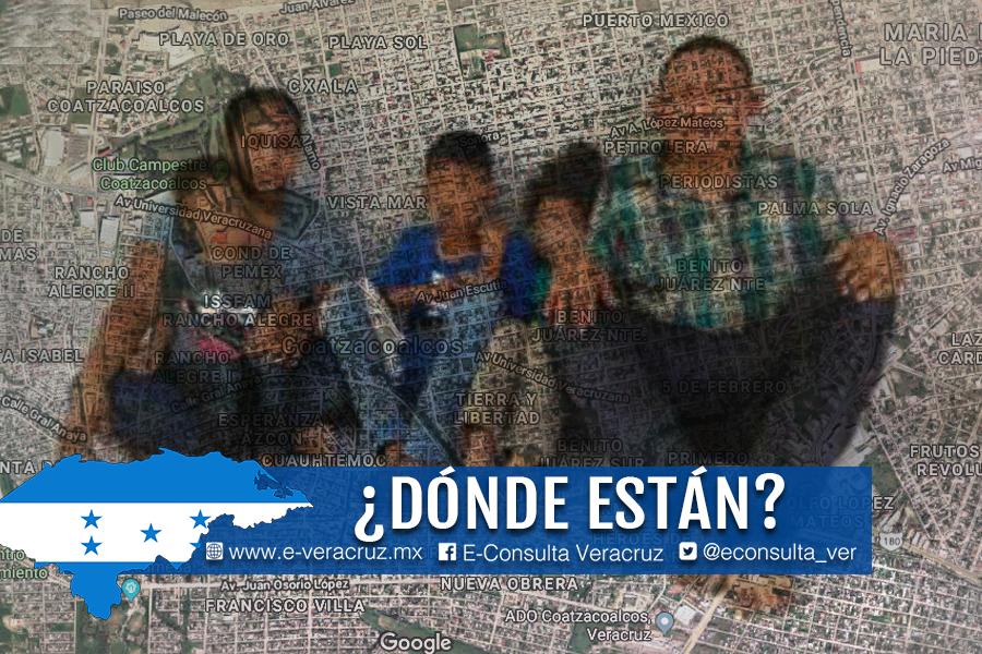 Familia hondureña cumple 7 días desaparecida en Veracruz: Embajada