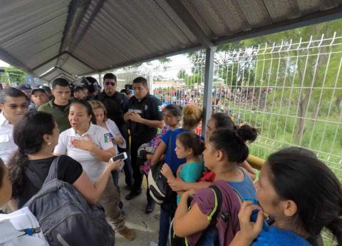 EU ofreció a México 20 mdd para frenar Caravana Hondureña: Navarrete Prida