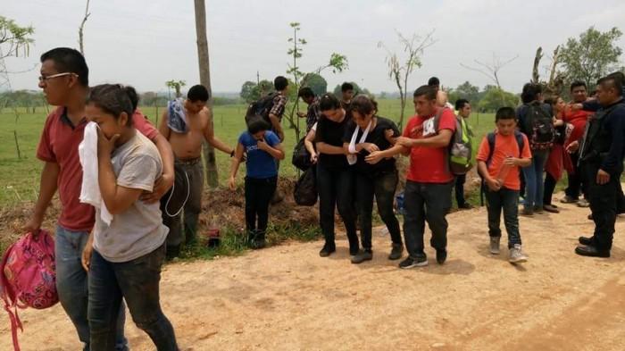 Abandono de migrantes podría ser tráfico de personas: Figueroa