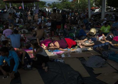Caravana Migrante negociará en CDMX el plan Estás en tu Casa