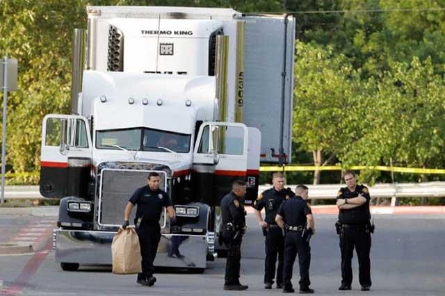 Muere otro migrante que viajó en el tráiler abandonado en Texas