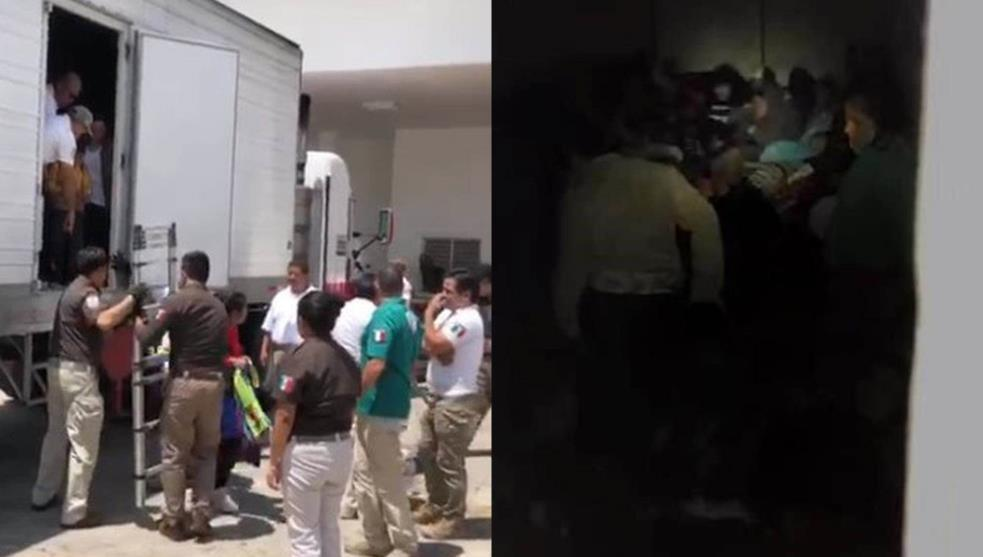 Son niños casi la mitad de los 782 migrantes rescatados en Veracruz
