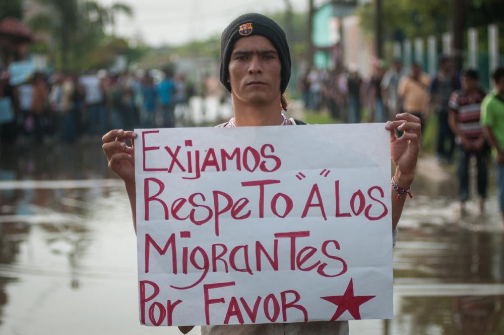 Disminuye el tránsito de migrantes en la zona sur durante 2014