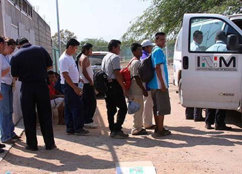 Rescatan a migrantes en Tamaulipas