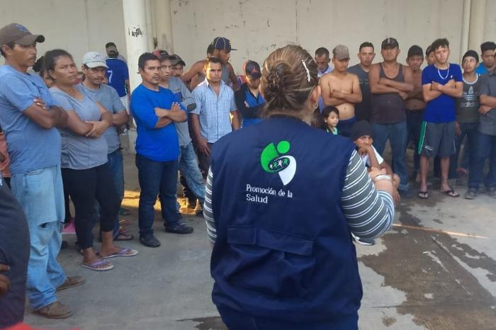 Esperan en Veracruz a últimas caravanas del éxodo migrante centroamericano