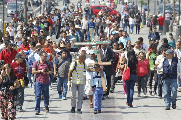 Interponen 139 quejas ante la CNDH por agresiones en Viacrucis Migrante