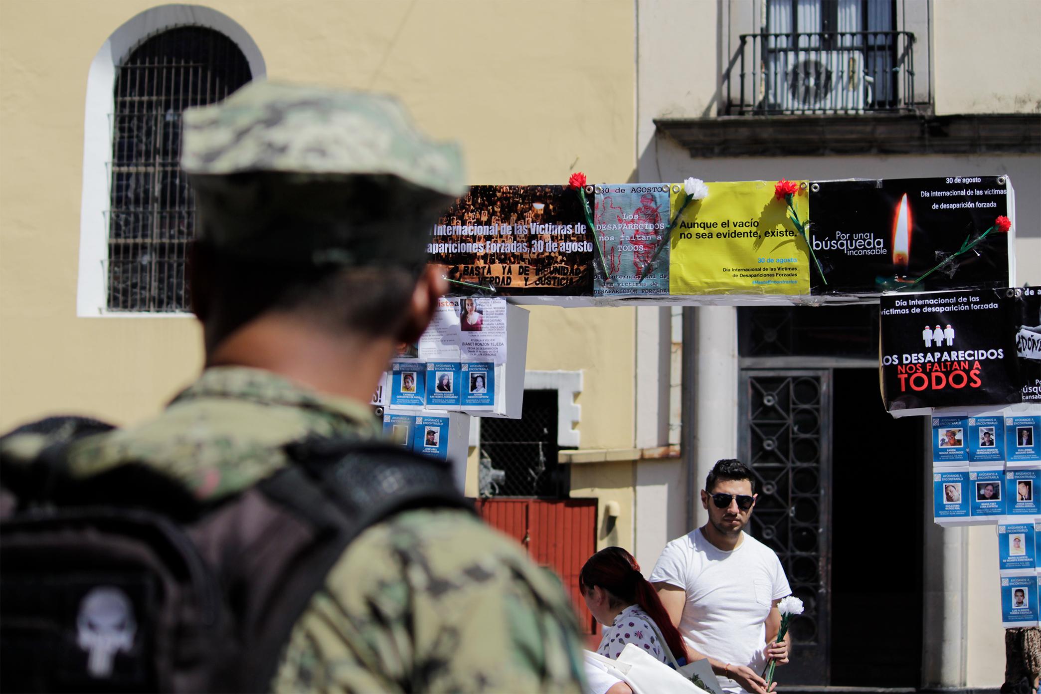 Podría haber fosas clandestinas en alrededores de Xalapa: colectivos