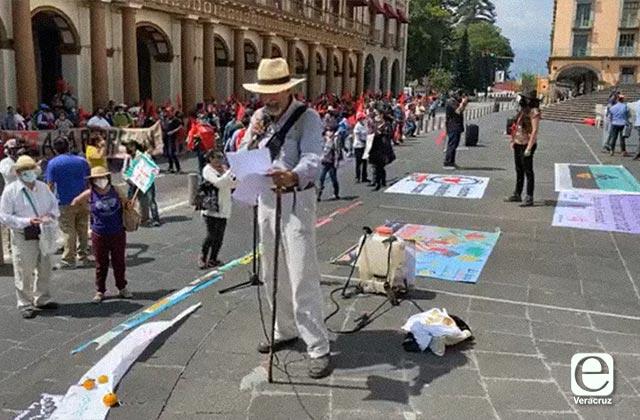 Veracruzanos se pronuncian contra