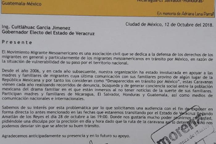 Ignora Cuitláhuac a Caravana de Madres de Migrantes desaparecidos