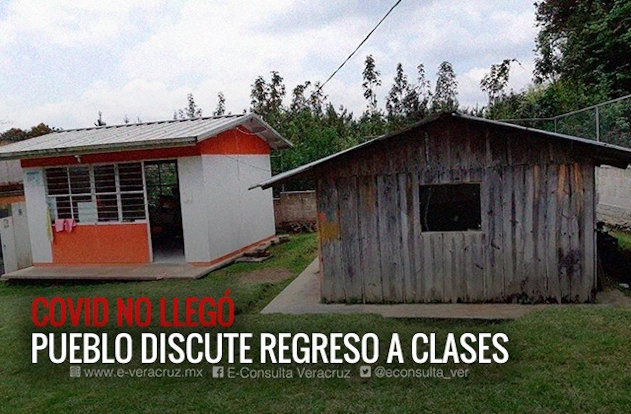 Mochilas seguirán guardadas; papás aplazan regreso a las aulas en Xico