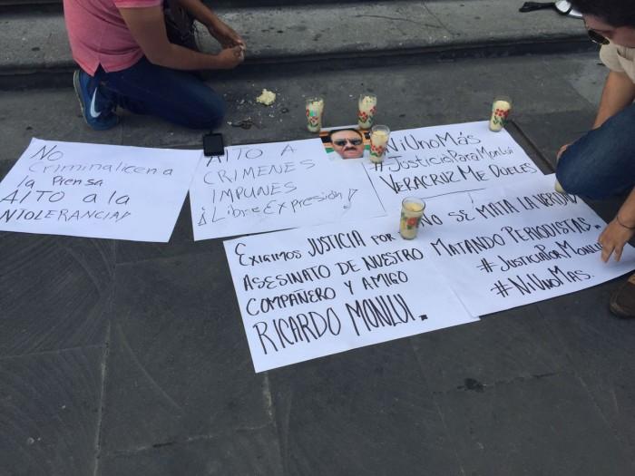 CNDH solicita a Yunes protección para familia de periodista asesinado