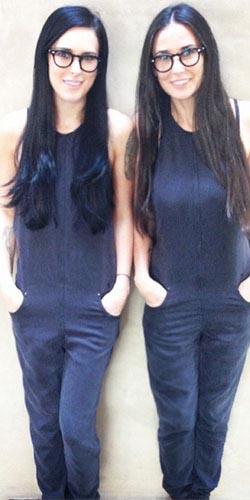 Hija de Demi Moore presume ser bella como su madre