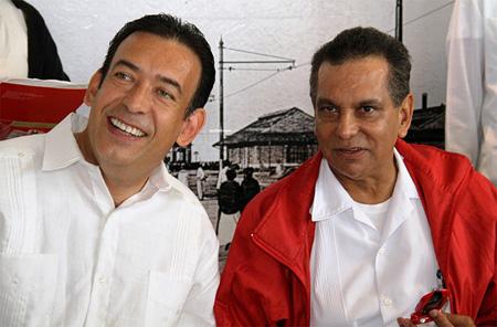 Fidel Herrera y Moreira rechazan vínculos con Los Zetas