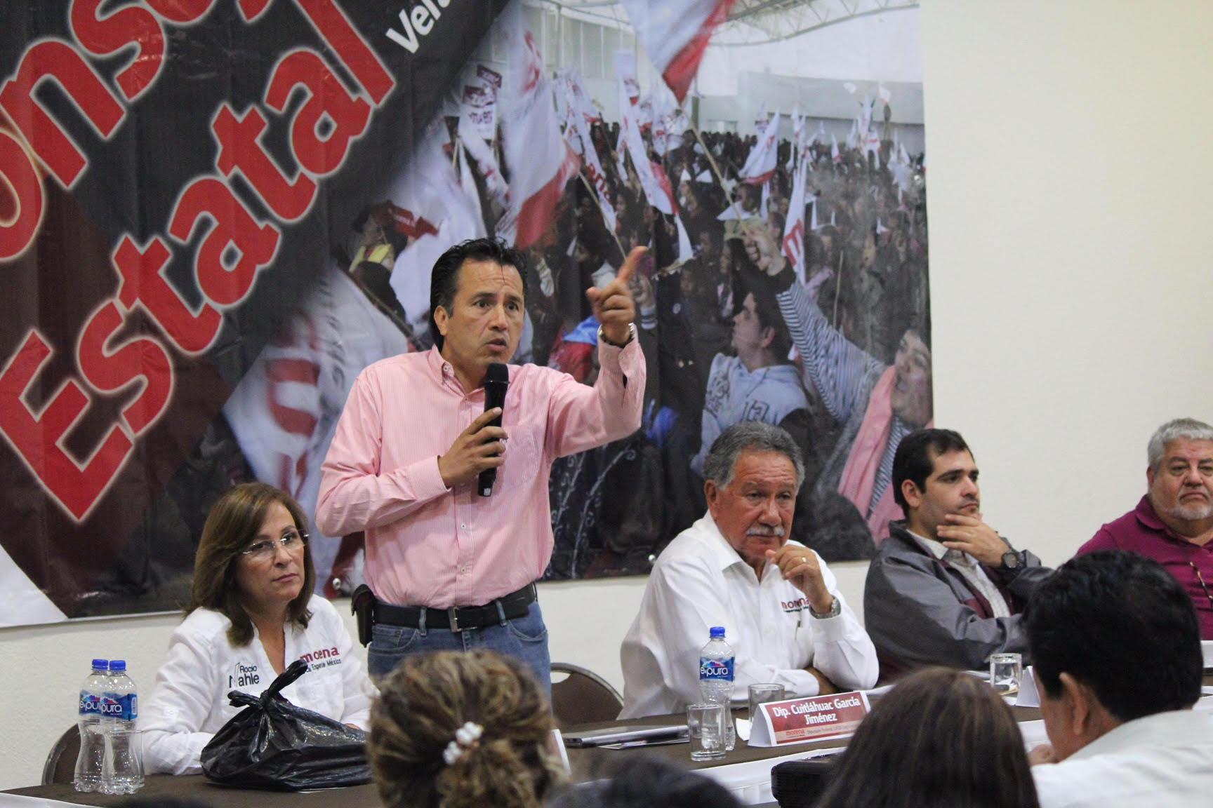 Consejo Estatal de MORENA en Veracruz inicia la selección de representantes para el 2018