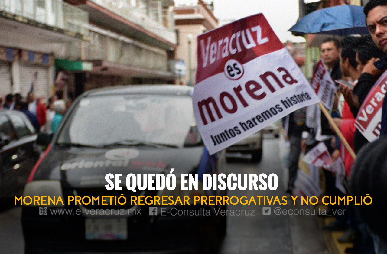 Morena faltó a promesa y no devolvió mitad de prerrogativas en 2021