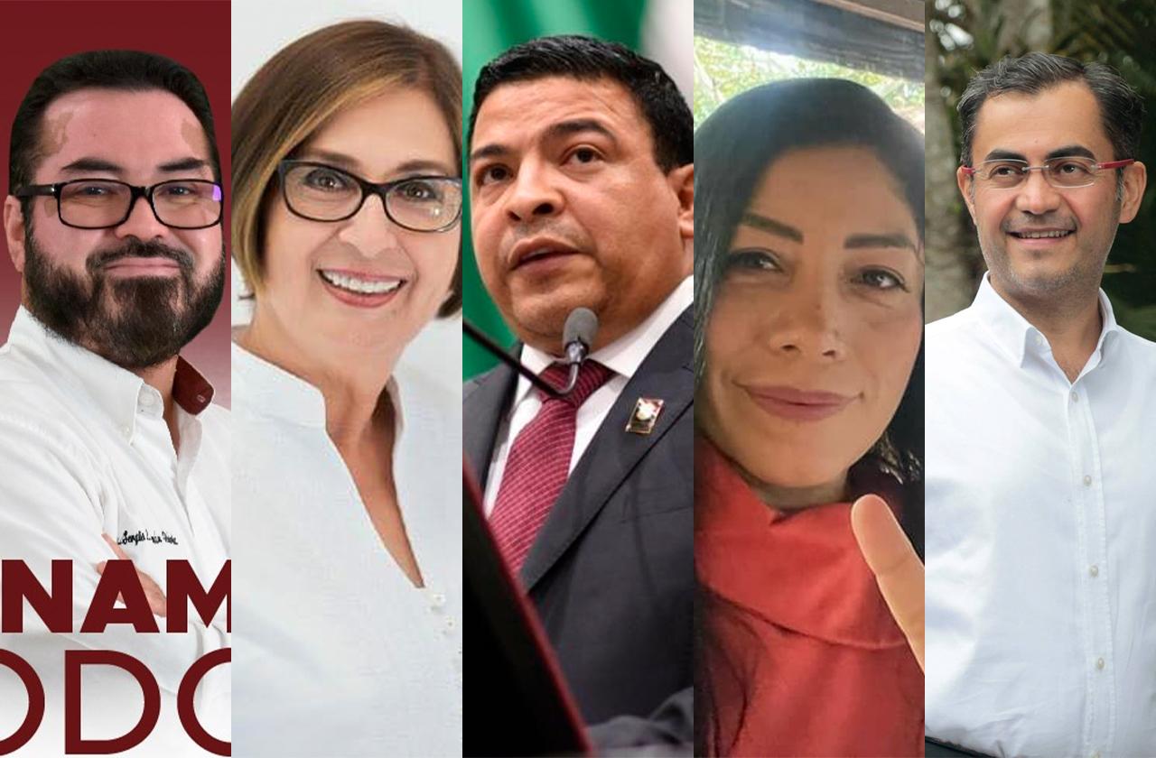 Morenistas que se disputan el control de la 66 legislatura