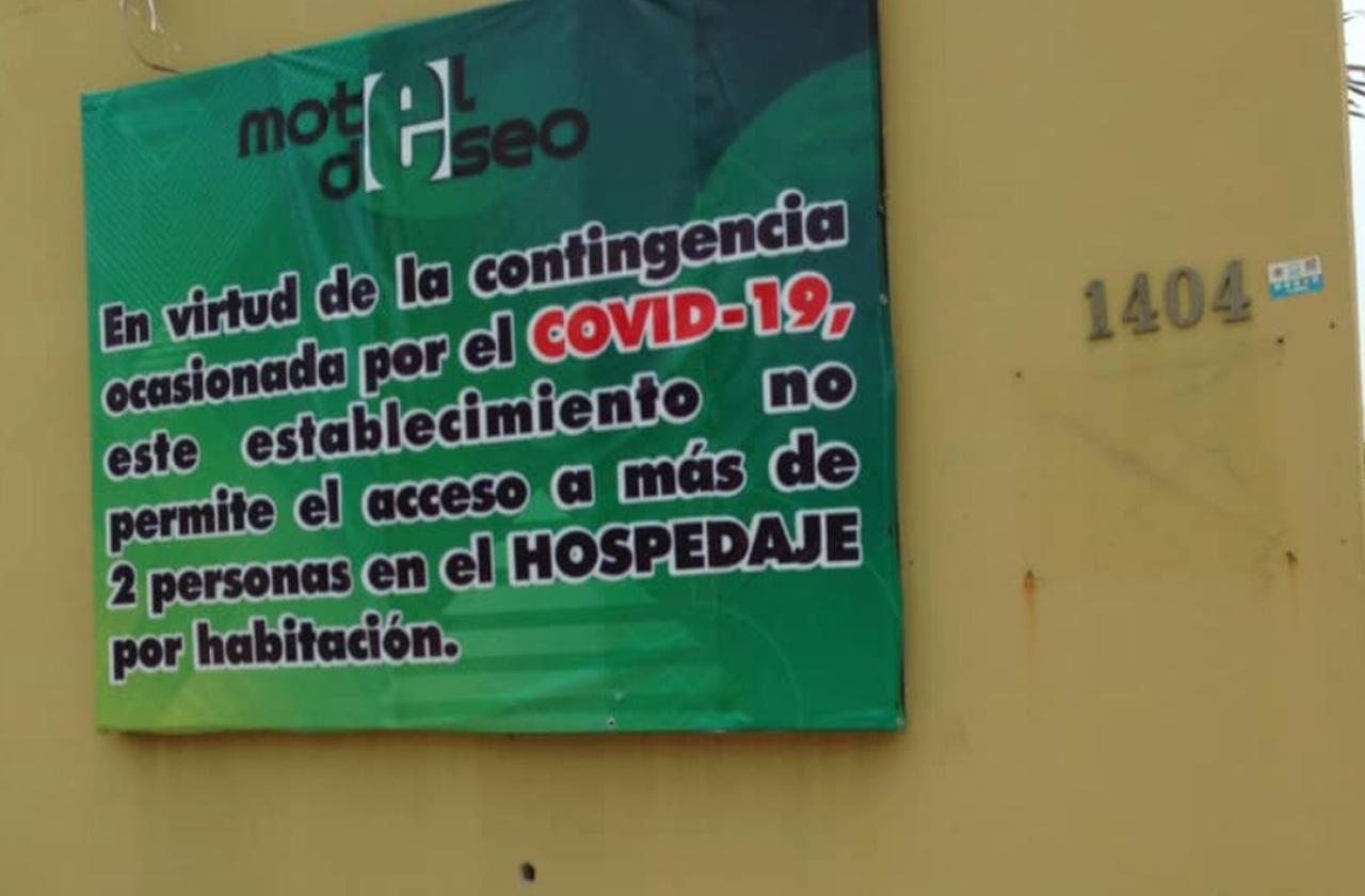 Prohíben acceso a más de 2 personas en motel de Coatza