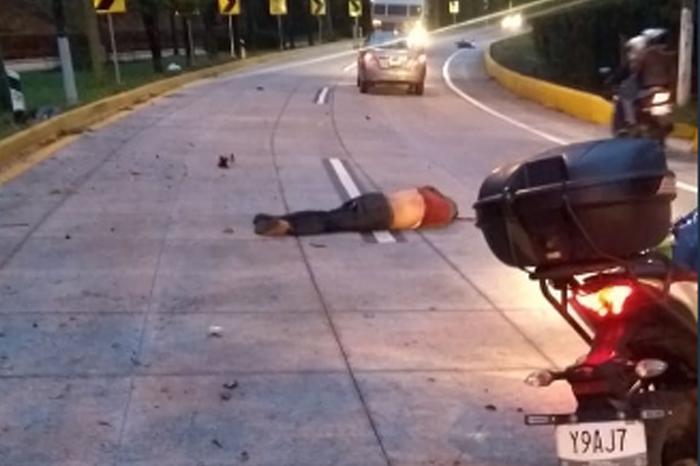 Mueren motociclistas en la carretera Xalapa-Coatepec