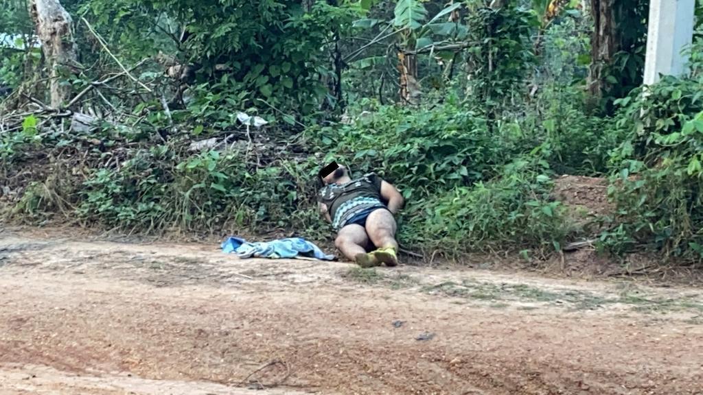Hallan a hombre ejecutado en comunidad de Acayucan