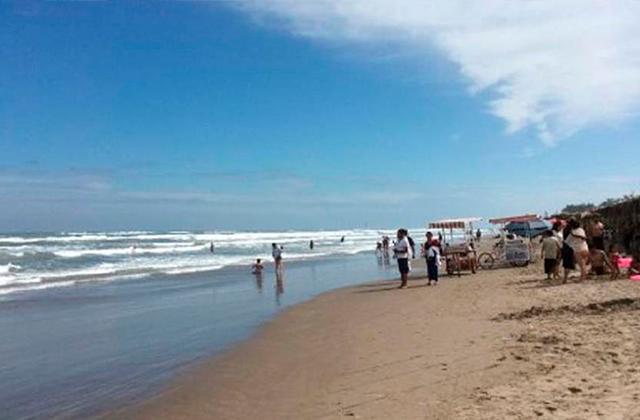 Hombre fallece tras ahogarse en playas de Tecolutla