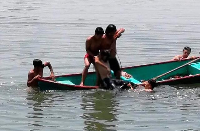 Menor de 14 años muere ahogado en el río Cosamaloapan