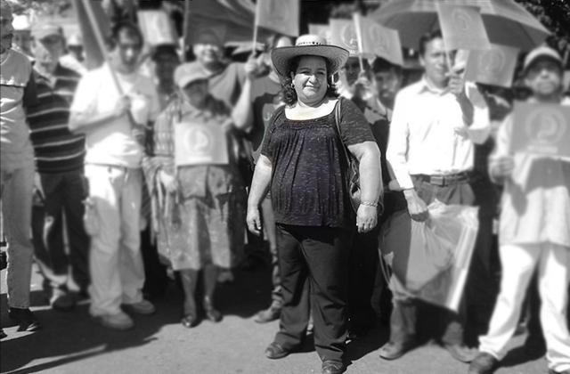 Muere por covid-19 Martha Macedo, lideresa del UNTA