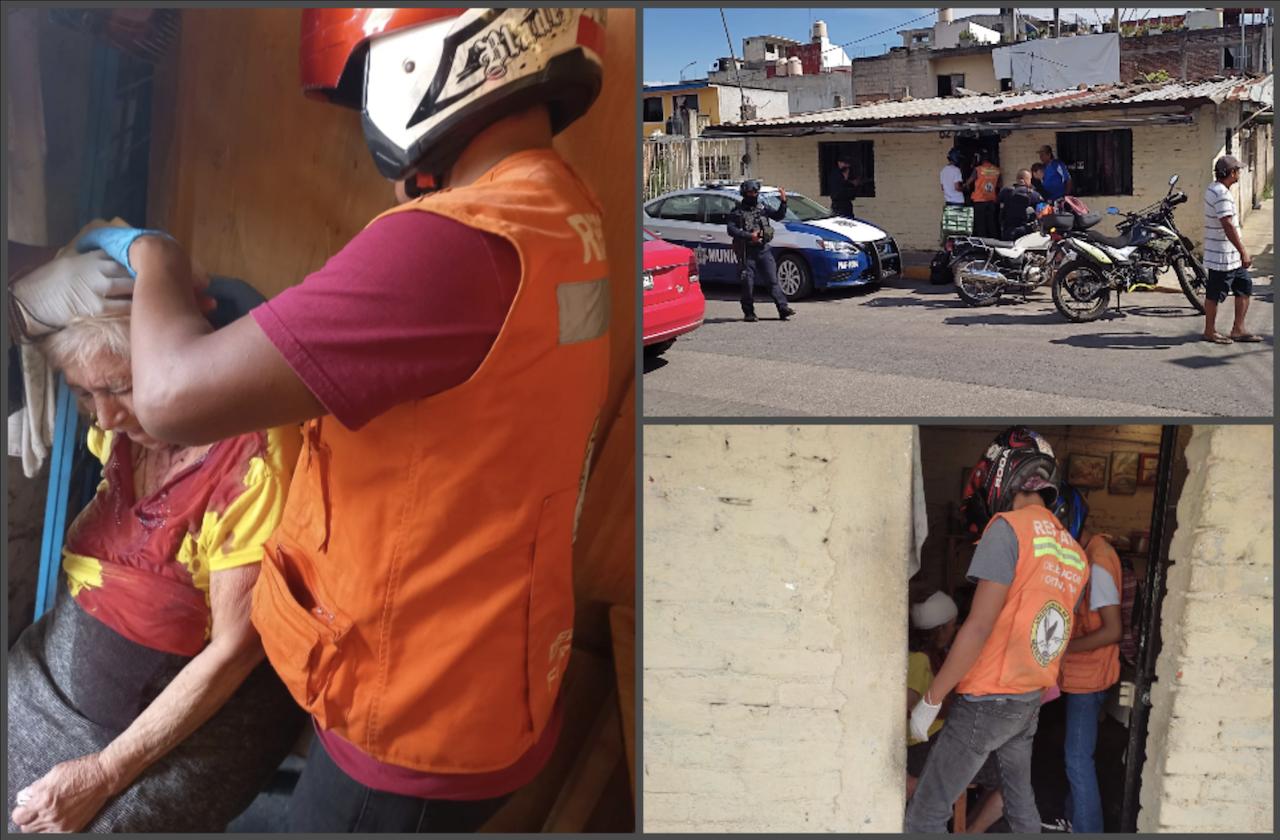 Mujer de la tercera edad sufre asalto violento, en Fortín
