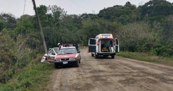 Acribillan a mujer embarazada en Álamo Temapache