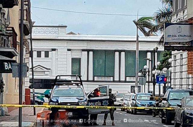 Mujer muere atropellada por un camionero en el centro de Veracruz