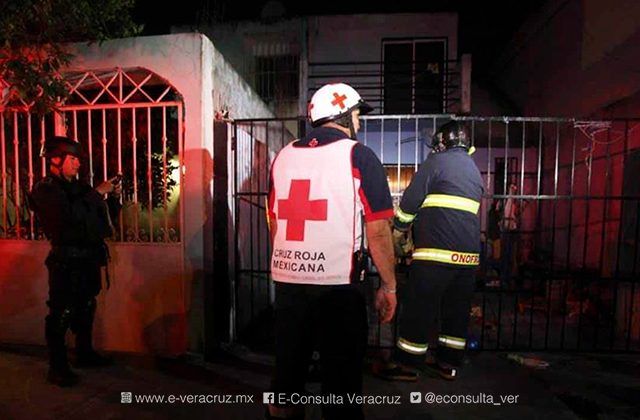 Mujer muere tras ser atropellada por su hijo, en Veracruz