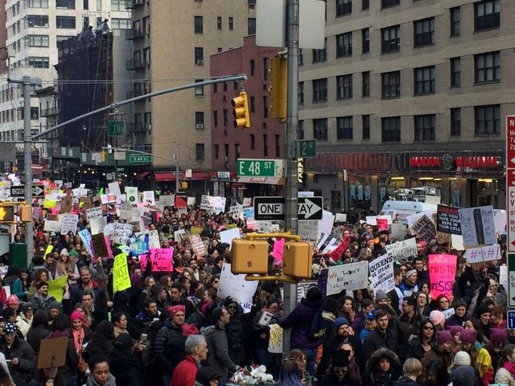#WomensMarch: mujeres y hombres del mundo se unen contra Trump