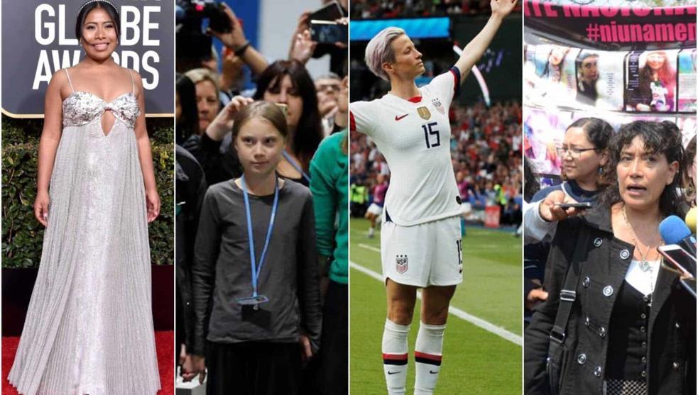 Estas son las mujeres que nos inspiraron este 2019