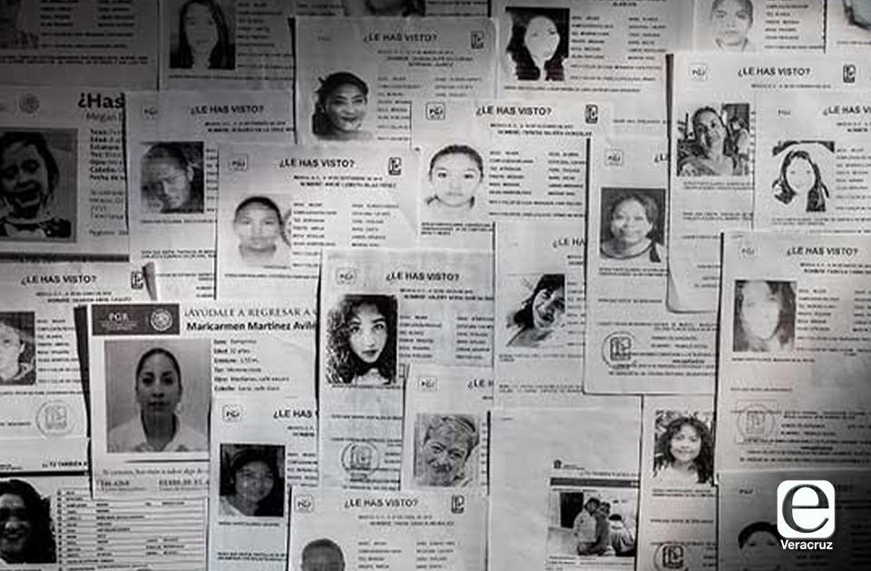 Más de 240 mujeres desaparecieron durante 2021: UV