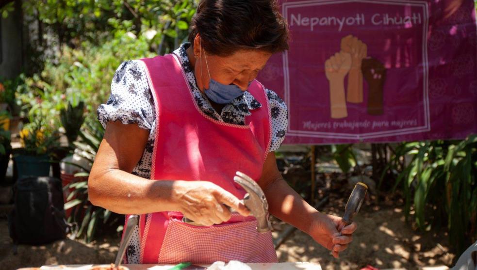 Las mujeres que reconstruyeron casas tras el sismo 19S