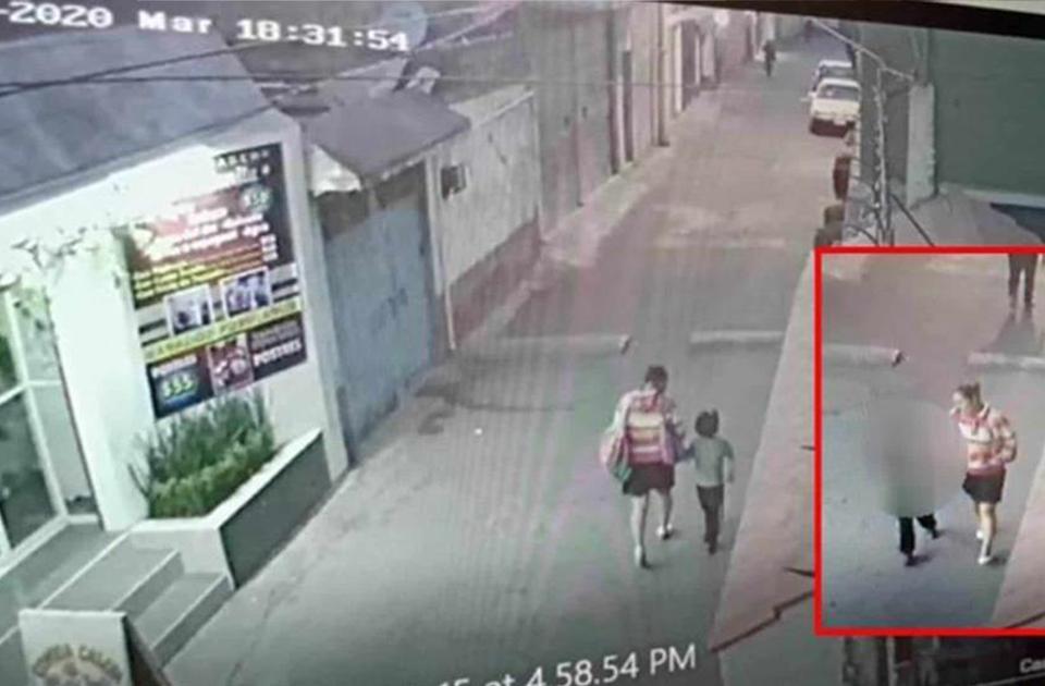 Mujer que raptó a Fátima vendía papitas afuera de la escuela