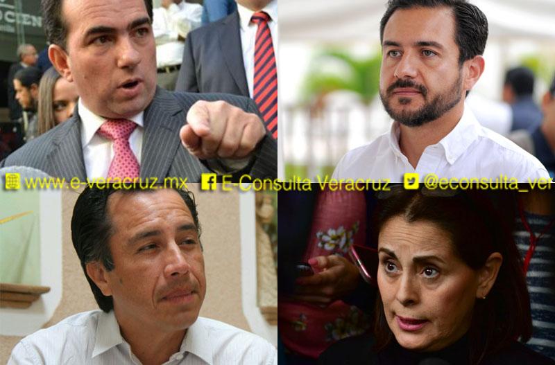 INE multa a los cuatro candidatos a Gobernador en Veracruz