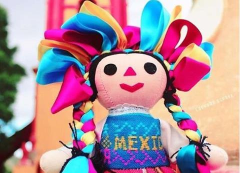 """Conoce la historia de las """"Marías"""", alegres muñecas mexicana"""