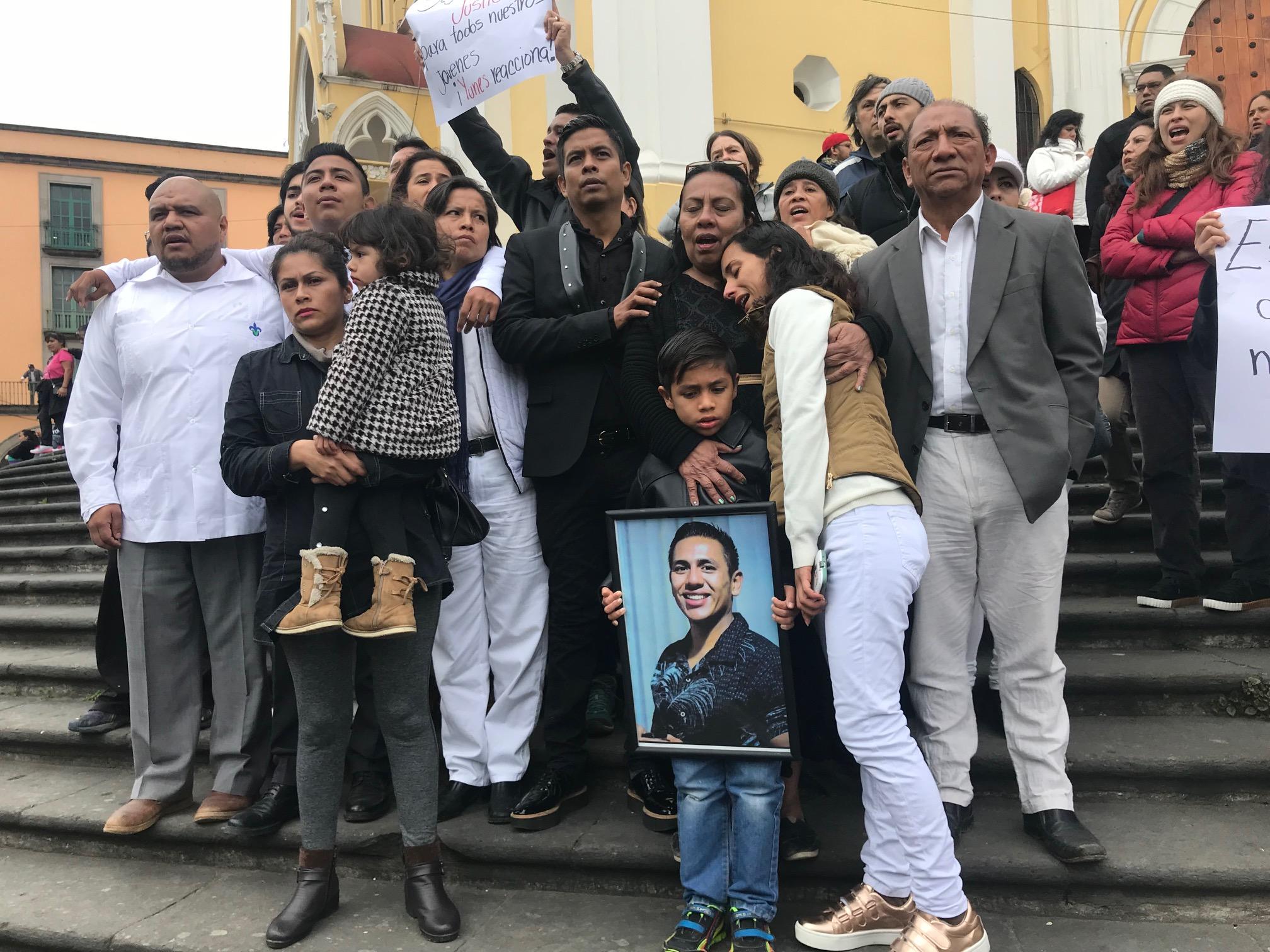 No solo mataron a mi hijo, mataron a toda mi familia: padre de José Cortaza