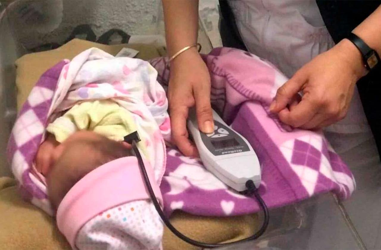 Nace bebé en calle de Veracruz, a la hora del grito de independencia
