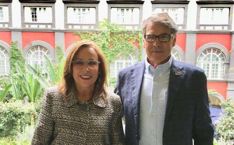 Nahle se reúne con Secretario de Energía de Estados Unidos