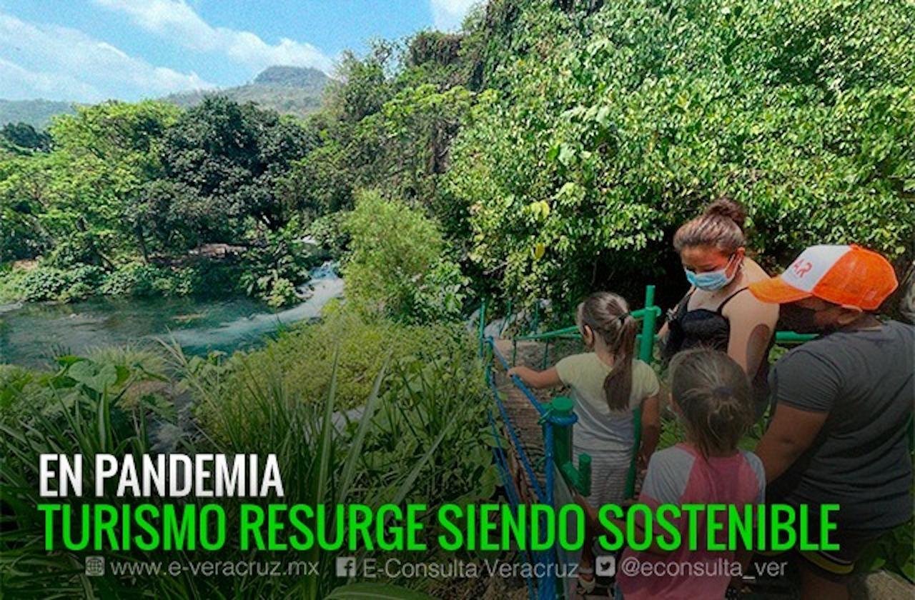 Naturaleza y turismo, el chance de algunos para subsistir en Veracruz