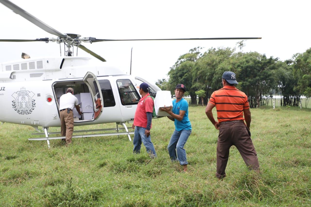 Pusimos las aeronaves al servicio del pueblo, nunca más un gobierno corrupto: Cuitláhuac