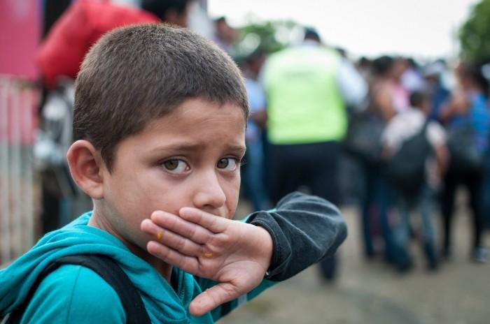 Siete niños migrantes bajo resguardo del DIF porteño