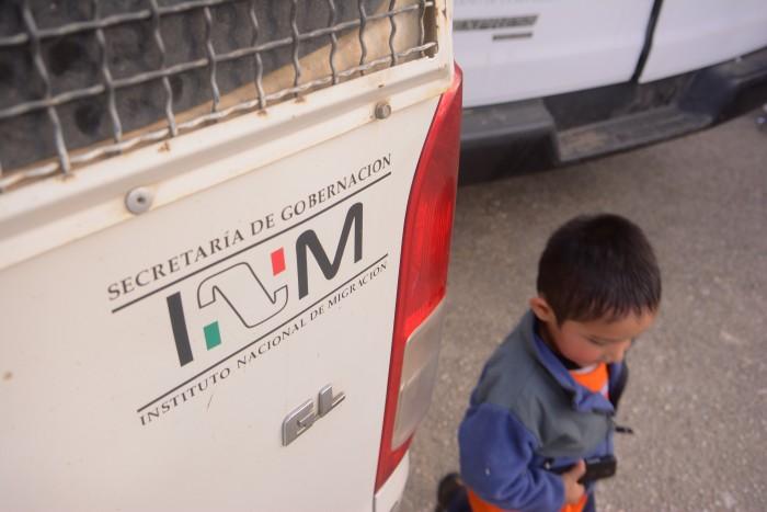 Honduras solicita entrega de niño migrante abandonado en central camionera