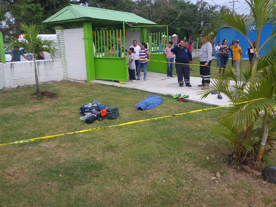 Se ahoga niño en balneario de Medellín de Bravo