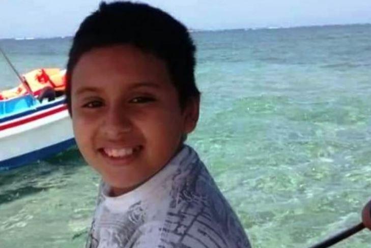 Abdiel, de 11 años, salió ayer a una tienda en Veracruz y no ha vuelto a casa