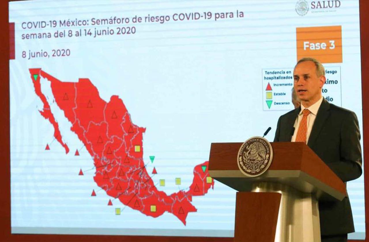 México irá al alza en contagios por covid: López-Gatell