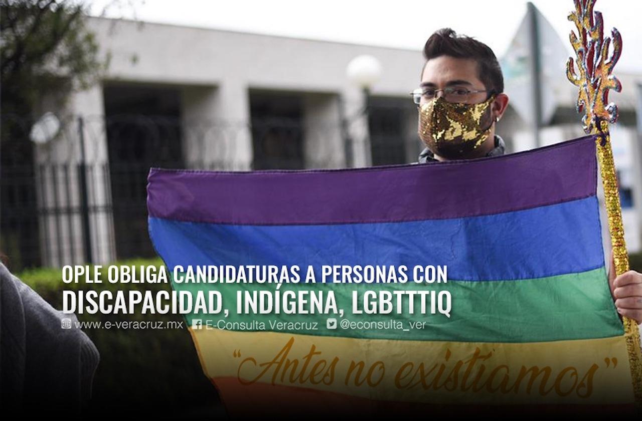 Sin simulación: Grupos minoritarios piden candidaturas en Veracruz