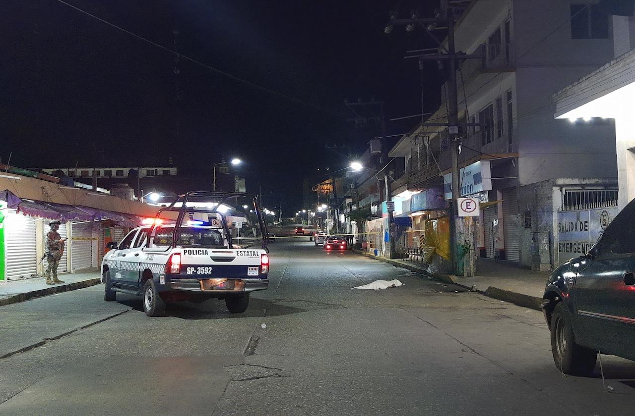 Noche violenta en Acayucan deja 3 personas asesinadas